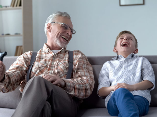 laughter shutterstock_1238610265