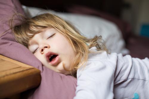 child sleeping shutterstock_627992219